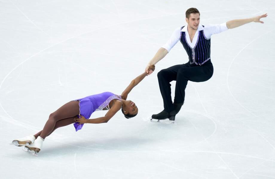 Le couple américain Vanessa James - Morgan Cipres en patinage artistique - Couple