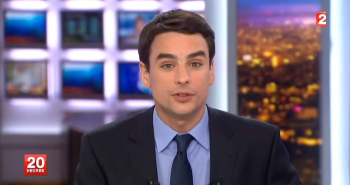 Julian Bugier est devenu le joker de David Pujadas sur France 2 depuis juillet 2011.