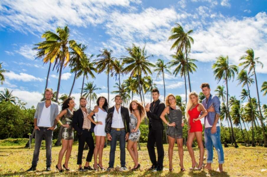 Les dix candidats de L'îles des vérités 2