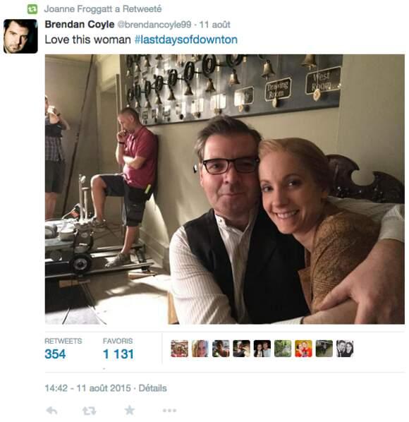 """""""J'aime cette femme"""" a t-il déclaré sur Twitter"""