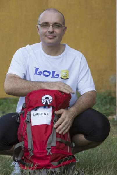 Laurent part souvent en camping avec sa femme