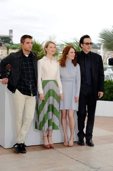 Robert Pattinson, Mia Wasikowska, Julianne Moore et John Cusack