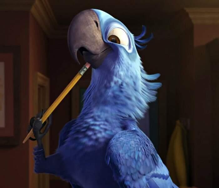 Blu, le perroquet de Rio est doublé par un jeune acteur qui adoooooore le métro…