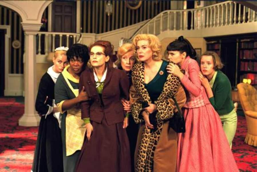 8 femmes, un casting 100% féminin (2002)