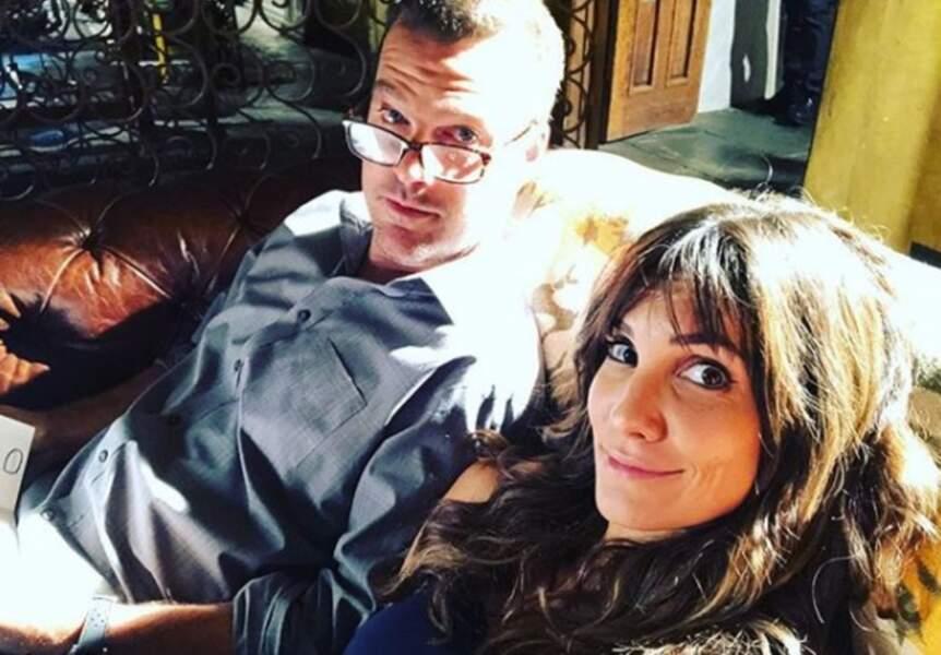 Sur le tournage de NCIS : Los Angeles, Daniela Ruah prend une pause avec Chris O'Donnell