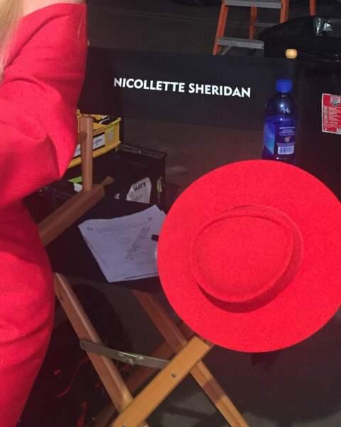 Nicollette Sheridan nous promet encore des tenues colorées dans la saison 2 de Dynastie