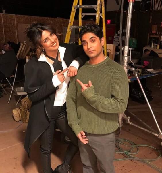 Priyanka Chopra accueille Vandit Bhatt dans la saison 3 de Quantico !