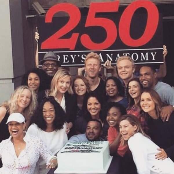 Grey's Anatomy fête son 250e épisode !