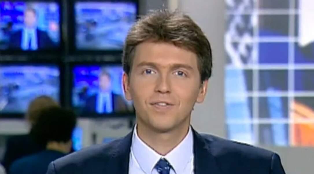 Thomas Hugues a participé au lancement de LCI.