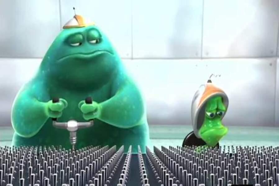 Stu et Mister B (Extra-terrien, court-métrage, 2006)