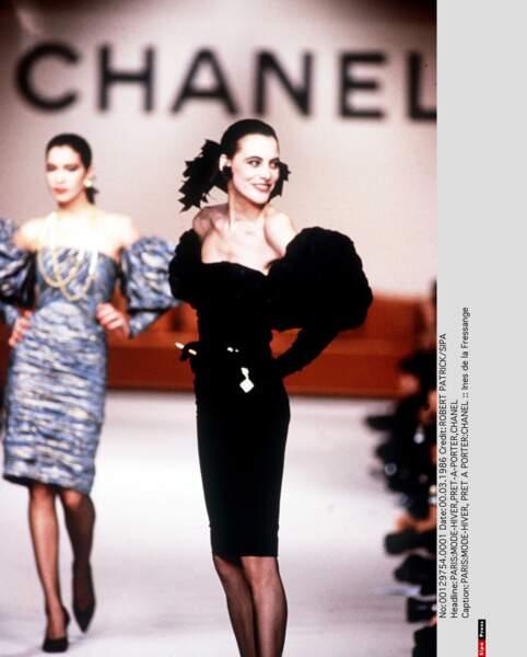 Inès de la Fressange, éternelle en Chanel