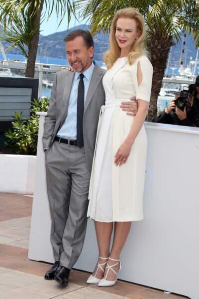 Nicole Kidman et Tim Roth, couple star de Grace de Monaco