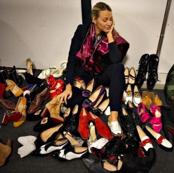 Pourtant, elle a déjà trouvé chaussure à son pied...