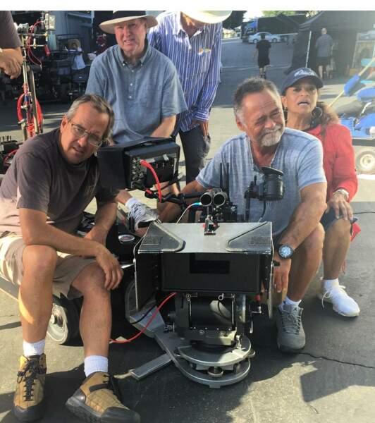 Debbie Allen est déjà derrière la caméra pour ces scènes d'extérieur de Grey's Anatomy