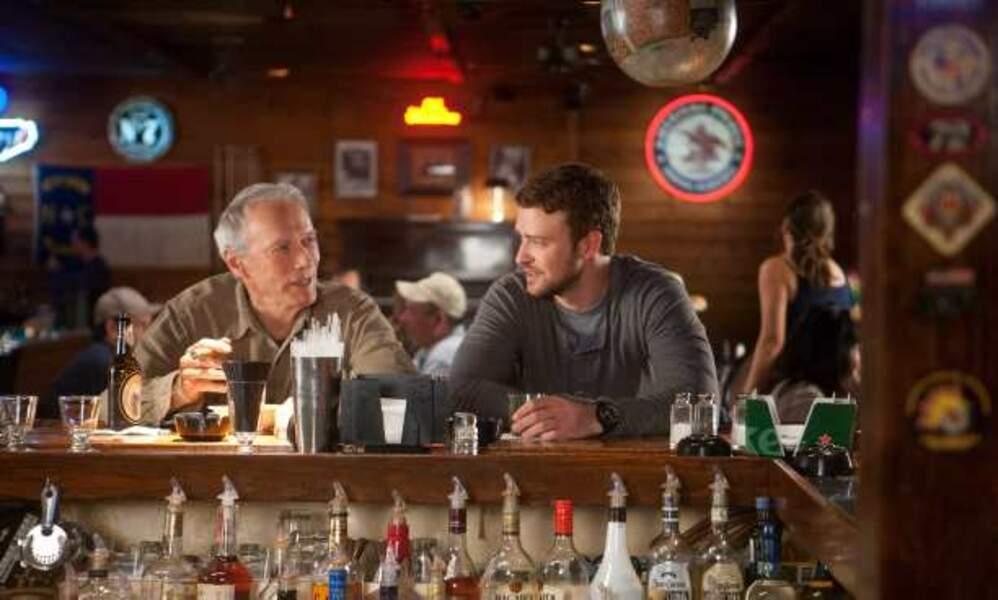 Une nouvelle chance (Robert Lorenz, 2012) : avec Clint Eastwood