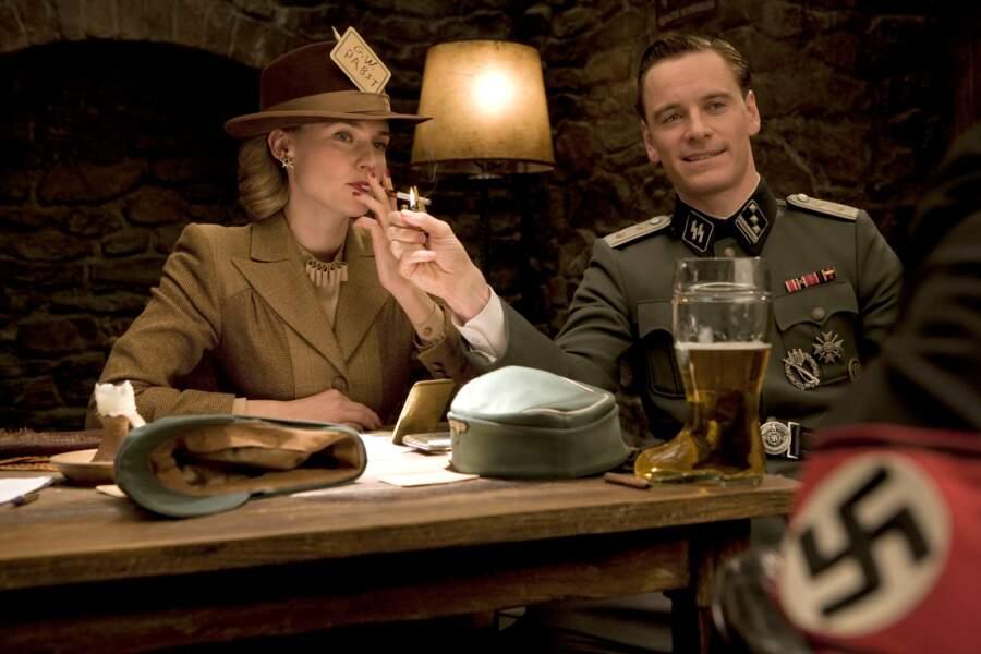 2009 : Quentin Tarantino lui offre le rôle d'Archi Hicox dans Inglourious Basterds