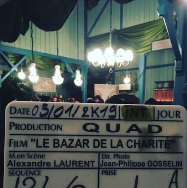 Julie De Bona tease son futur projet de fiction Le Bazar de la charité, une série de TF1