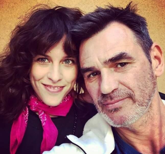 Jérôme Bertin est ravi de retrouver Athéna Zelcovich (Jenny) à Marseille dans Plus belle la vie