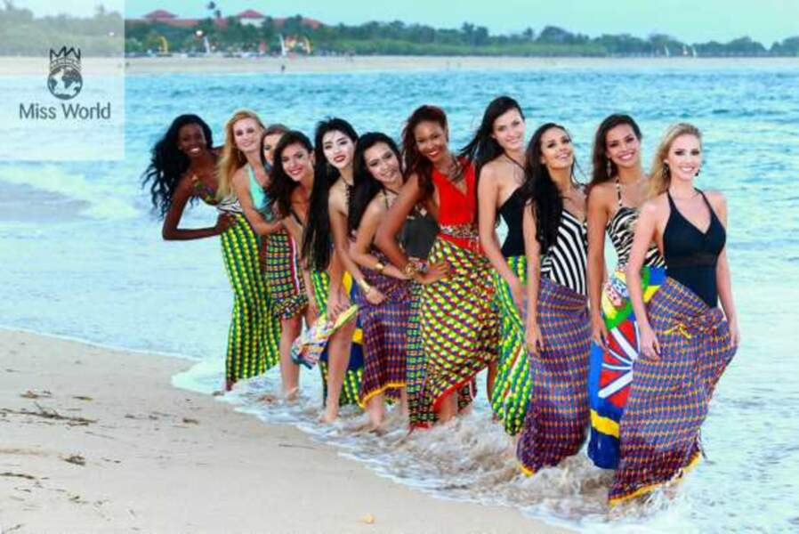 Les finalistes de Miss Beach Fashion