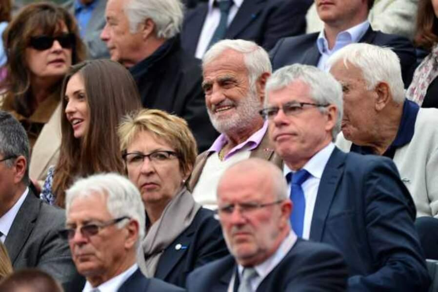 Jean-Paul Belmondo authentique fan de tennis, comme son compère Charles Gérard