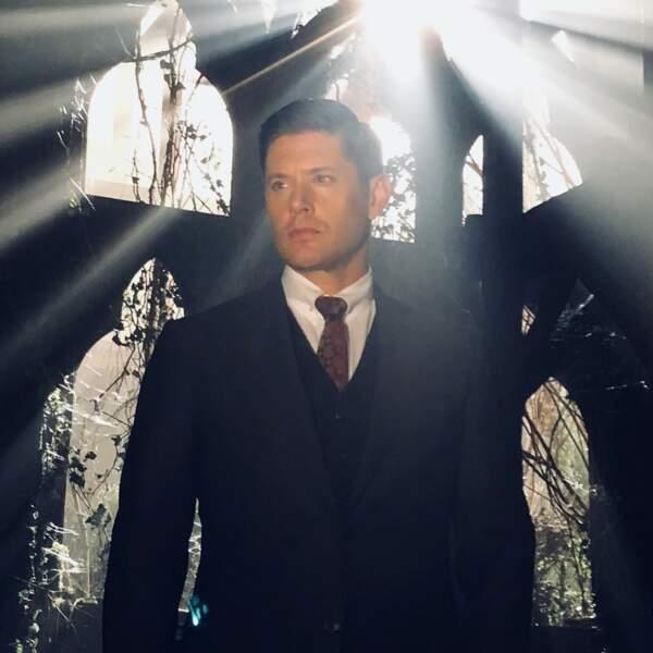 Jensen Ackles a l'air hyper sérieux pour la saison 14 de Supernatural
