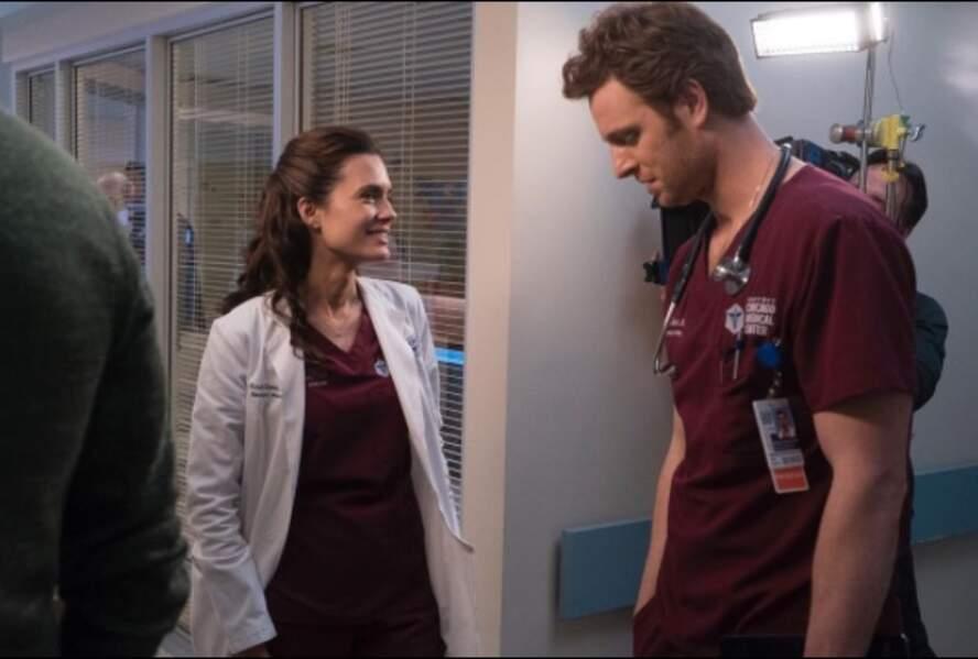 Il y a de l'amour dans l'air, chez Chicago Med