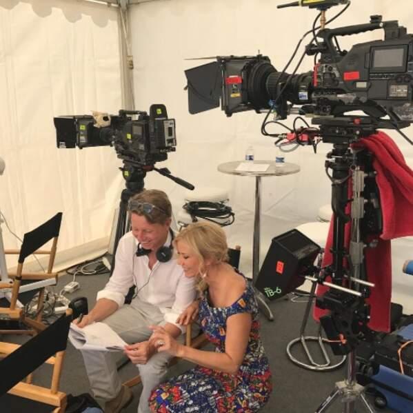 Katherine Kelly Lang (Brooke) travaille avec le producteur Bradley Bell