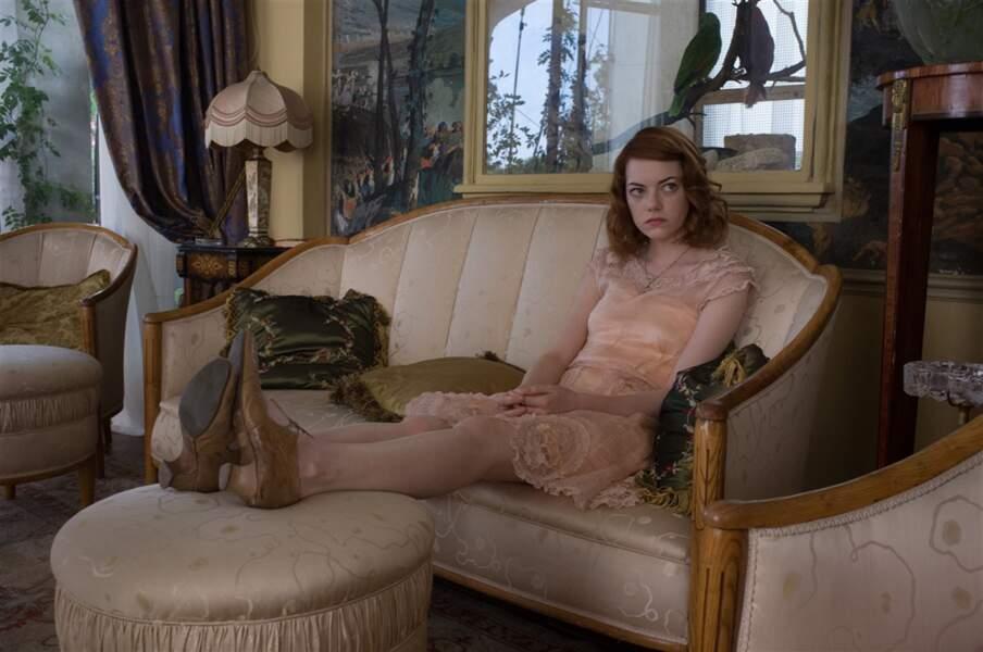 Emma Stone, nouvelle égérie, dans Magic in the moonlight (2014)