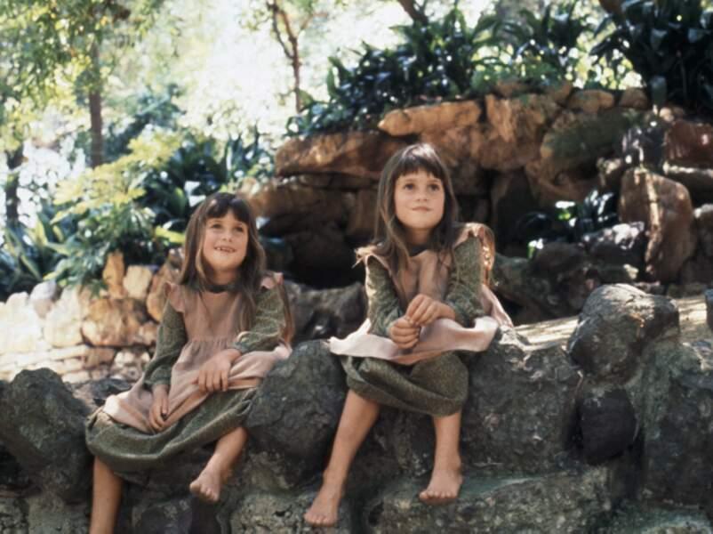 Dans la Petite Maison dans la prairie, Lindsay et Sidney Greenbush ont joué le rôle de la petite Carrie Ingalls