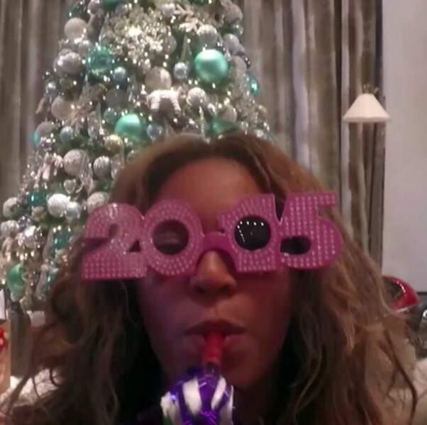 Beyoncé vous souhaite une bonne année avec un récap en vidéo de 2014