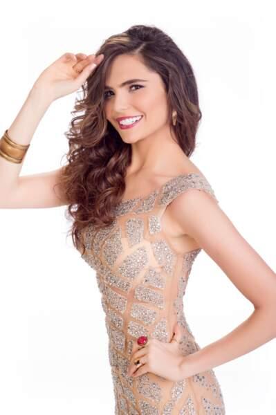 Lara Debbane, Miss Egypte 2014