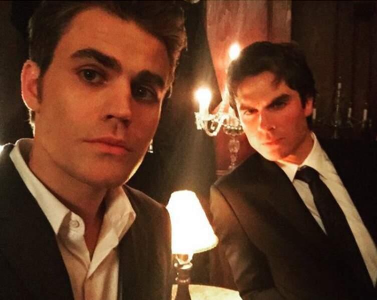 Les deux frères ennemis de Vampire Diaries