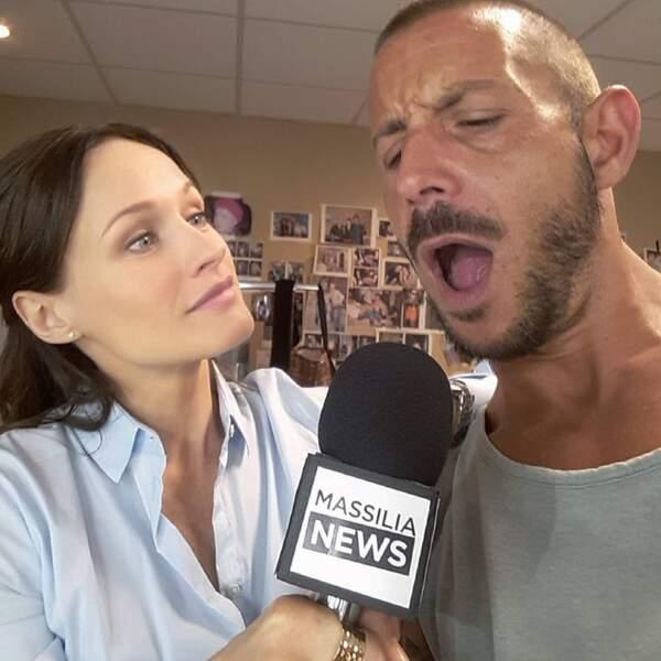 Attention, Lara Menini, alias Eugénie, la journaliste de Plus belle la vie, semble avoir décroché un scoop