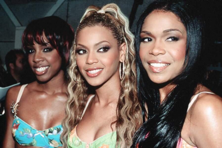 Déjà, au sein de son premier groupe The Destiny's Child, Beyoncé faisait la différence.