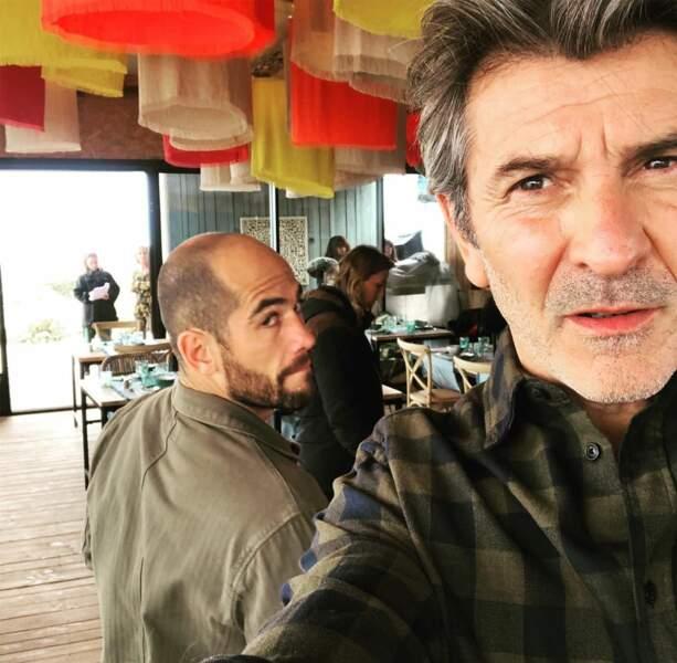 Photo volée de Moïse Santamaria par son partenaire d'Un si grand Soleil, Fred Bianconi