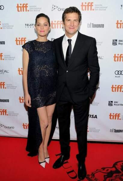 Un réalisateur et une compagne, aussi fier l'un que l'autre