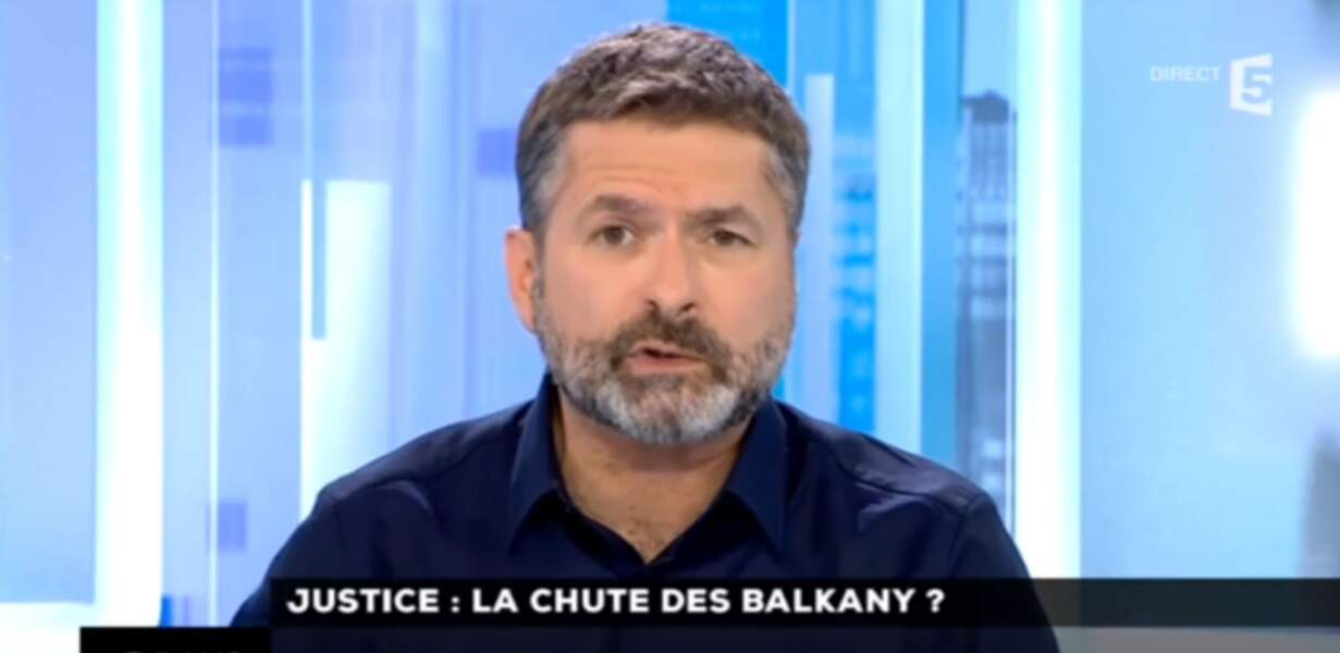 Thierry Guerrier est l'un des animateurs de C dans l'air sur France 5