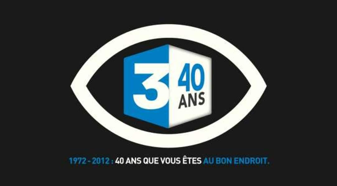 Logo 40 ans France 3