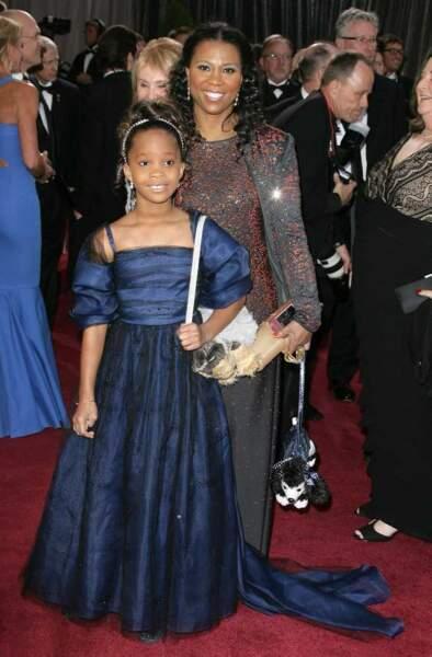 La jeune Quvenzhane Walli nommée pour l'Oscar de la meilleure actrice