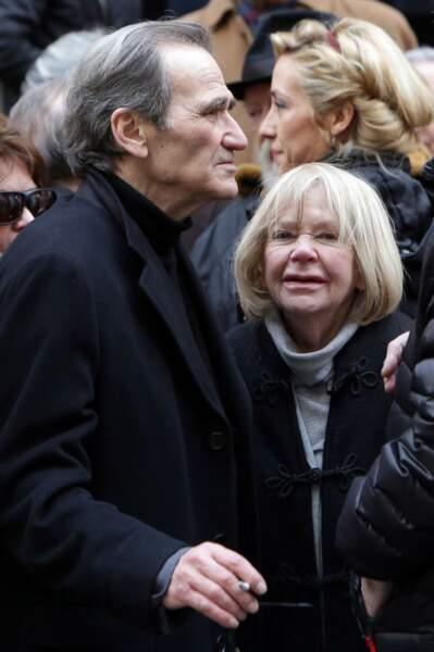 Le compagnon de Corinne Le Poulain et Laurence Badie