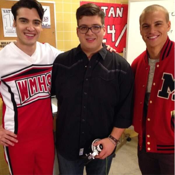 Mason (Billy Lewis Jr), Roderick (Noah Guthrie) et Spencer (Marshall Williams)