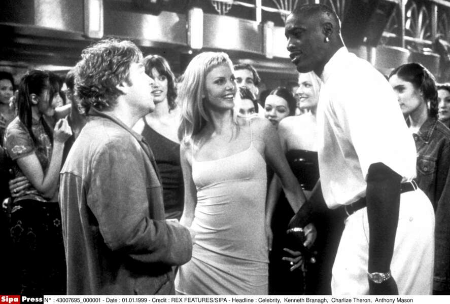 Celebrity (1998) : Charlize Theron tourne pour Woody Allen