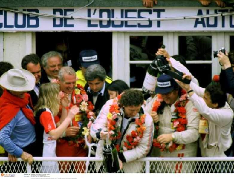 Paul Newman a fini deuxième en 1979 avec Rolf Stommelen et Dick Barbour
