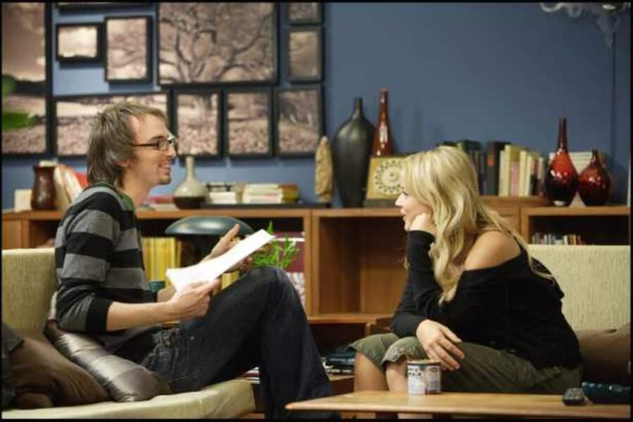 Elle se fait ensuite remarquée à la télé, sur M6 dans la série Off Prime (2007)