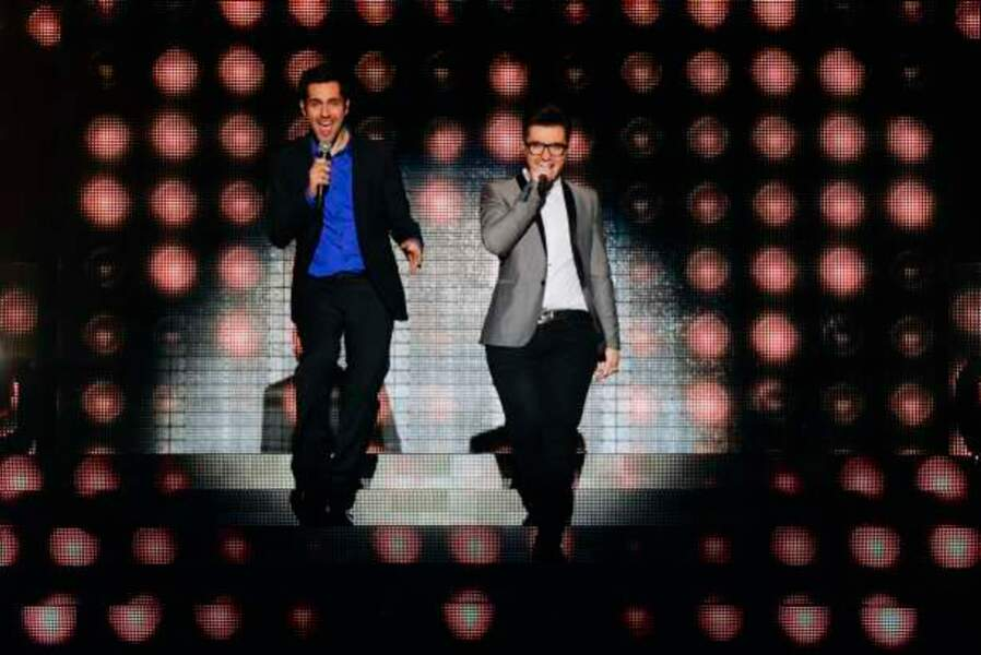 Yoann Fréget et Olympe, les finalistes de The Voice