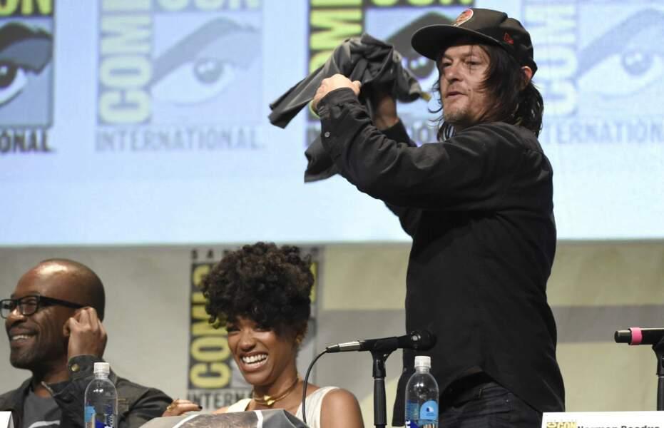 Il faut dire que Norman est infatigable !