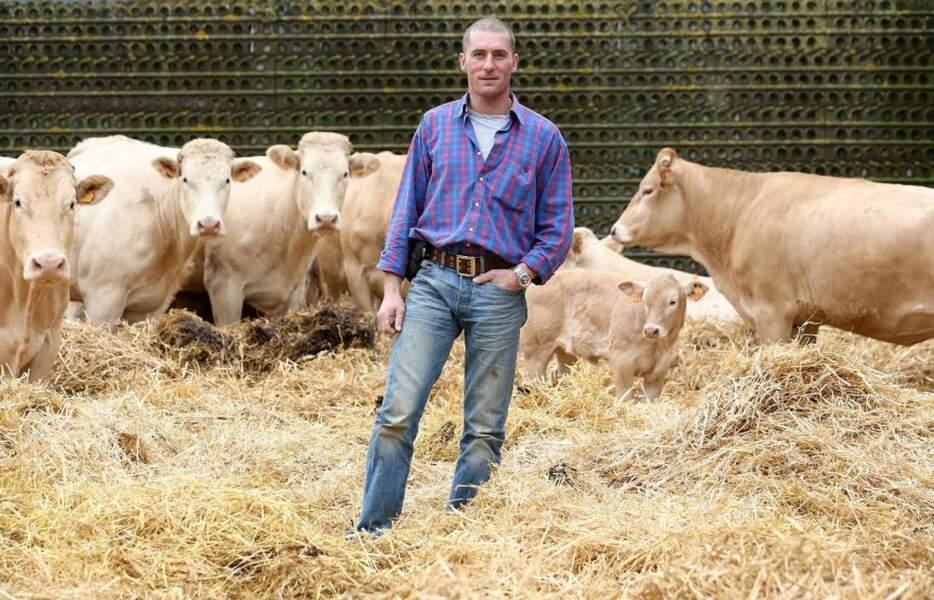 Baptiste, 36 ans, Champagne-Ardenne, éleveur de vaches allaitantes et céréalier