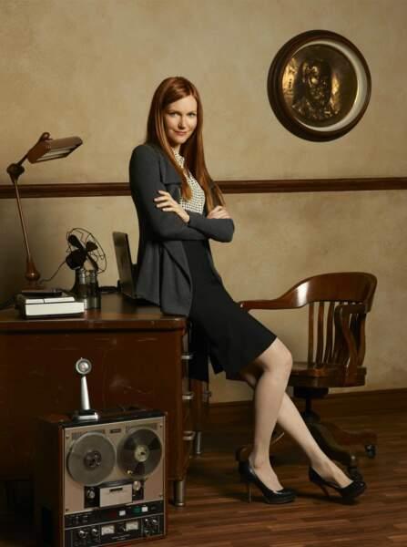 Darby Stanchfield, alias Abby Whelan dans Scandal
