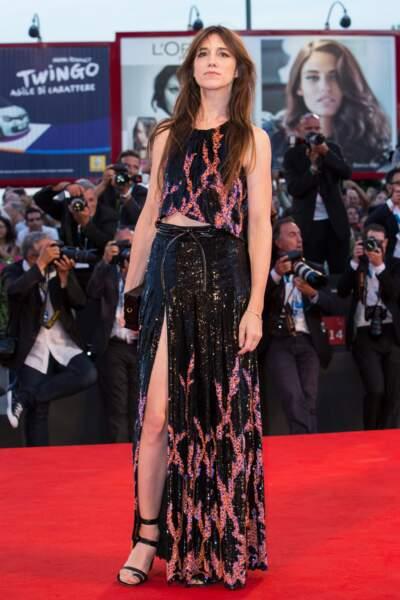 Charlotte Gainsbourg, elle, était sublime. Côté face…