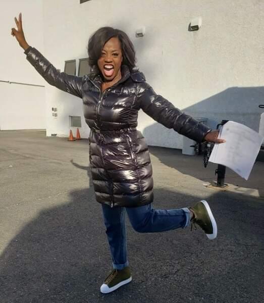 Viola Davis a une façon bien à elle d'annoncer que le tournage de la saison 5 de Murder est bientôt bouclé